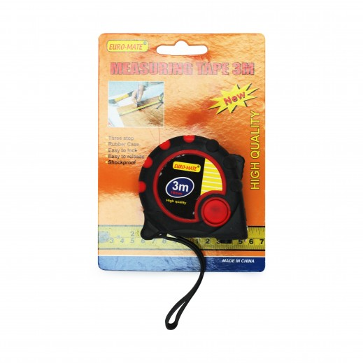 Euro Mate Measuring Tape 3 m