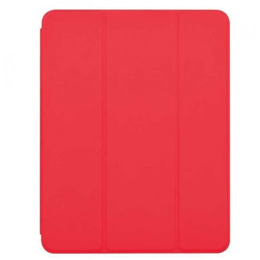 """Devia Folio Case with Pencil holder for Apple iPad Air 3 10.5"""" (2019) - Red"""