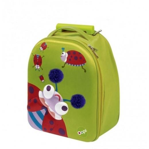 OOPS Easy 3D Trolley Bag Ladybug