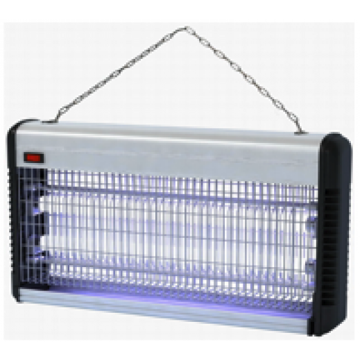 Alwan 2 × 20 W Insect Killer - Silver