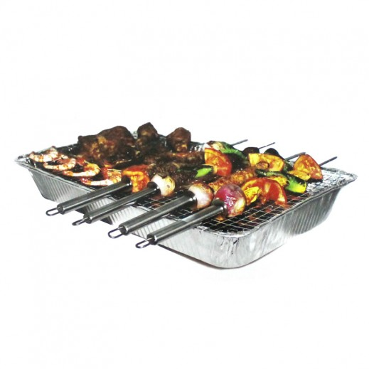Emas Instant Barbeque Grill Party Size 52 x 33 x 7 cm