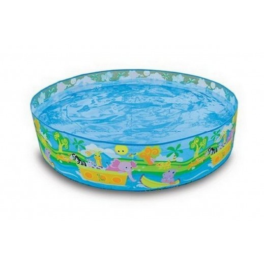 Intex Happy Animals Clearview Snapset Pool 122 x 25 cm