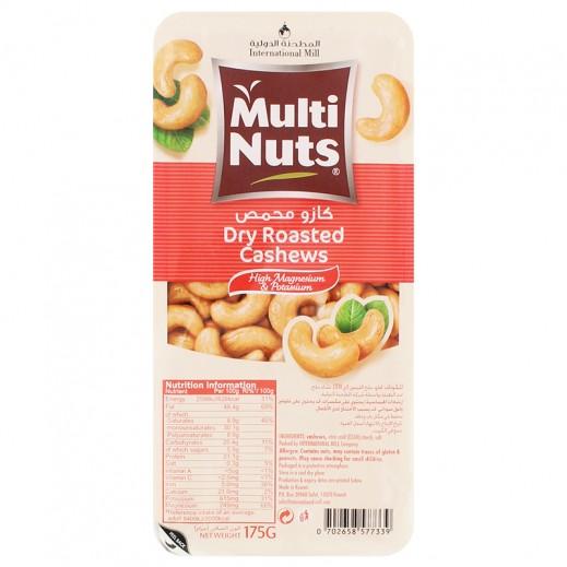 Multinuts Dry Roasted Cashews 175g