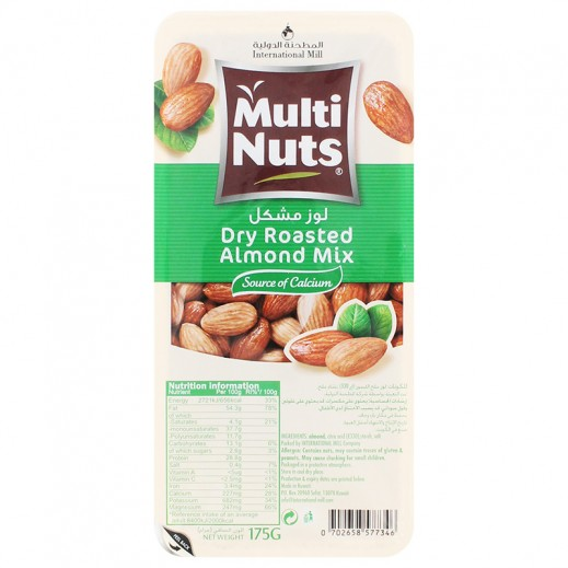 Multinuts Dry Roasted Mix Almond 175g