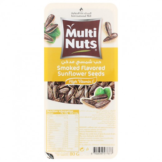 Multinuts Smoke Flavored Sunflower Seeds 80g