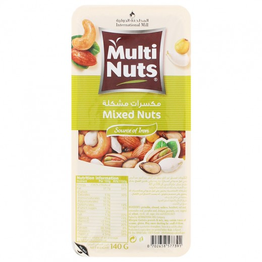 Multinuts Mixed Nuts 140g