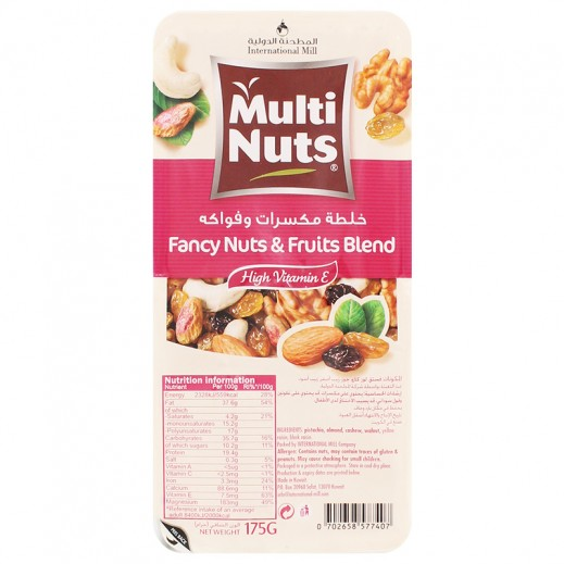 Multinuts Fancy Nuts & Fruits Blend 175g