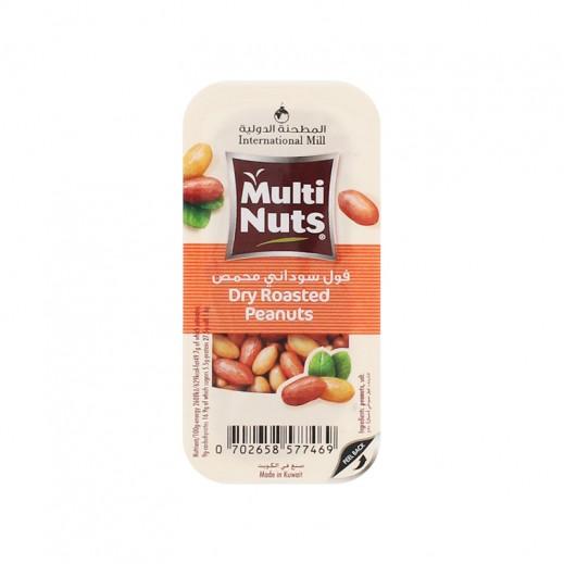 Multinuts Dry Roasted Peanuts 25g