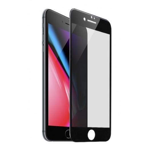 Hoco Anti Spy Privacy 3D Glass iPhone 7 / 8 - Black