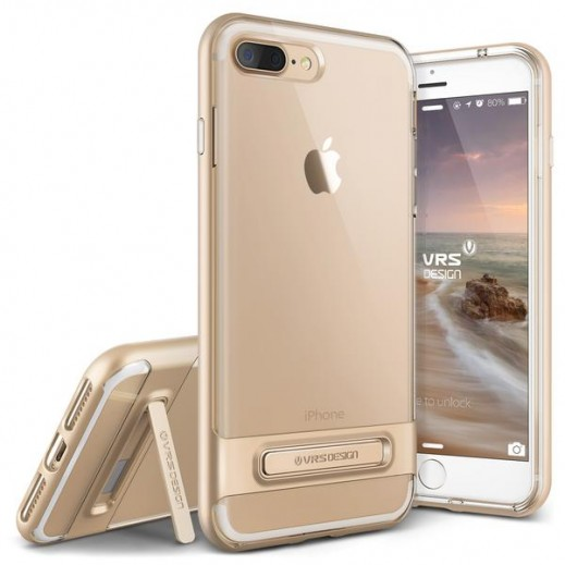 Verus Crystal Bumper For Iphone 7 Plus Shine Gold