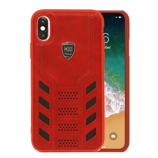 HDD Transformers Back Case for iPhone XS / X Case - Red