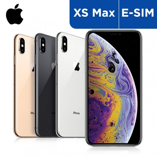 Apple iPhone XS Max (E-Sim) Smartphone - delivered by Taw9eel On Next Working Day