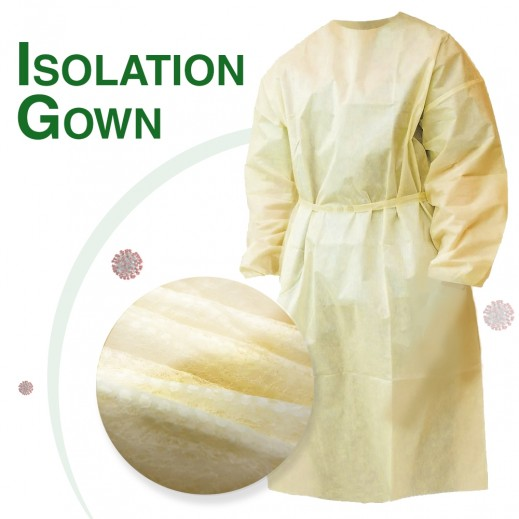 Isolation Disposable Protective Gowns