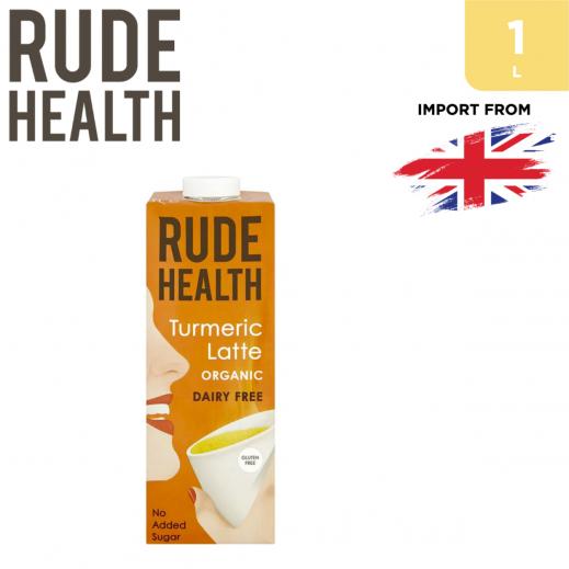 Rude Health Organic Dairy Free Turmeric Latte Drink 1 L