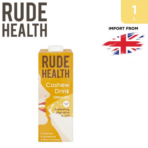 Rude Health Organic Gluten Free Cashew Drink 1 L