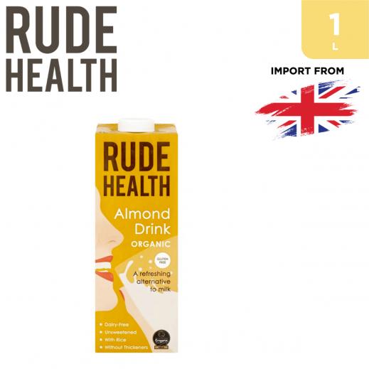 Rude Health Organic Gluten Free Almond Drink 1 L