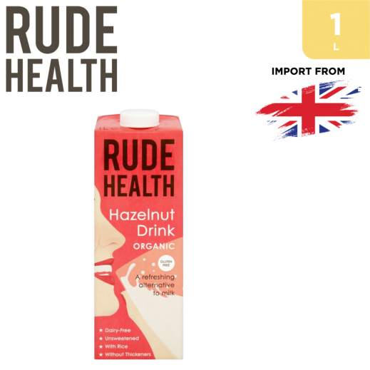 Rude Health Organic Gluten Free Hazelnut Drink 1 L