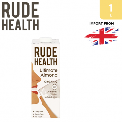 Rude Health Organic Gluten Free Ultimate Almond Drink 1 L