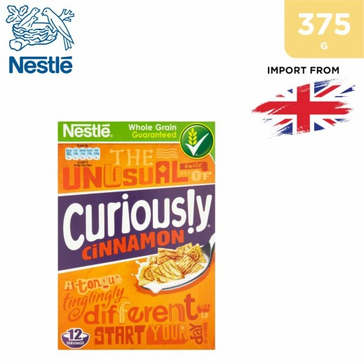 Nestle Whole Grain Curiously Cinnamon Cereal 375 g