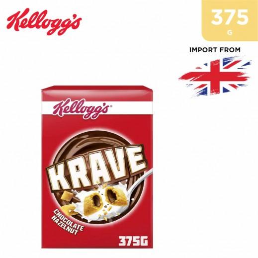 Kellogg's Krave Chocolate Hazelnut Cereal 375 g
