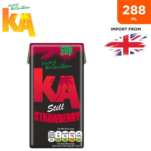 Ka Still Strawberry Fruit Drink 288 ml