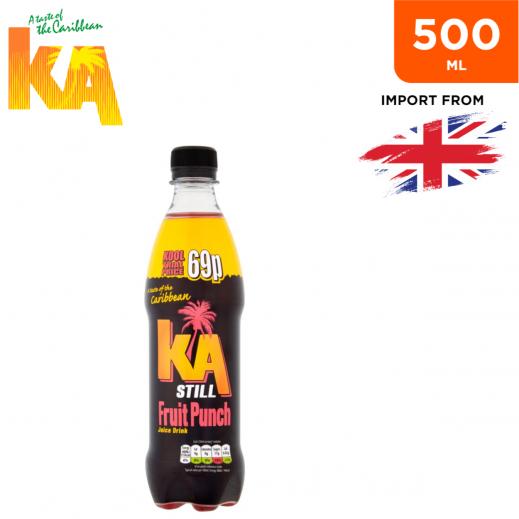 Ka Still Fruit Punch Fruit Drink Bottle 500 ml