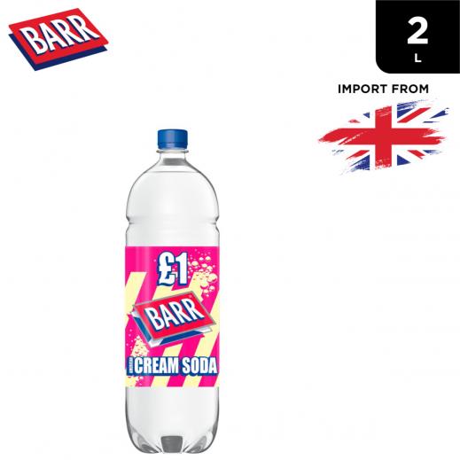 Barr Cream Soda Drink Bottle 2 L