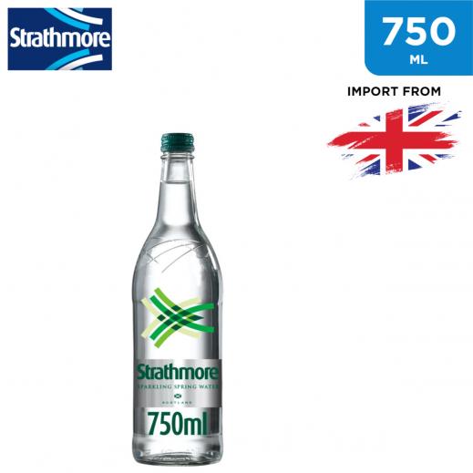 Strathmore Sparkling Spring Water Glass Bottle 750 ml