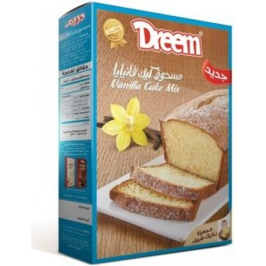 Dreem Pound Cake Mix Powder Vanilla 400 g