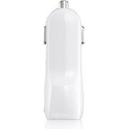 Dausen USB Car Charger -White
