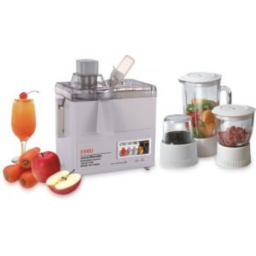 Jumbo Blender and Juicer ​​with Glass Cups