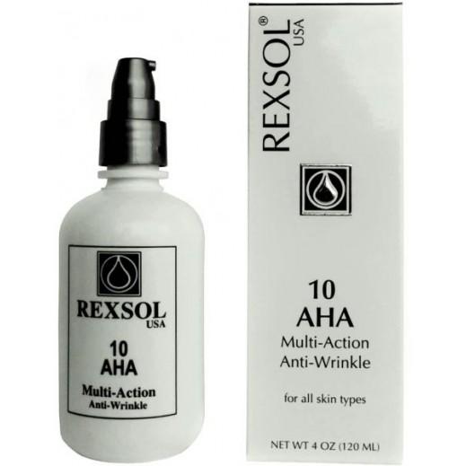 Rexsol USA 10 AHA Multi Action Anti Wrinkle Cream 120 ml