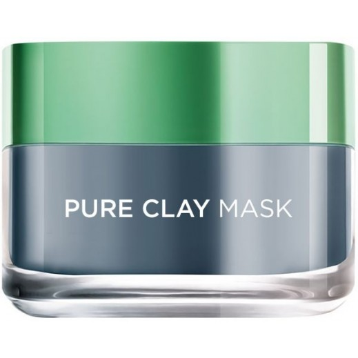 L'Oreal Charcoal Pure Clay Face Mask 50 ml