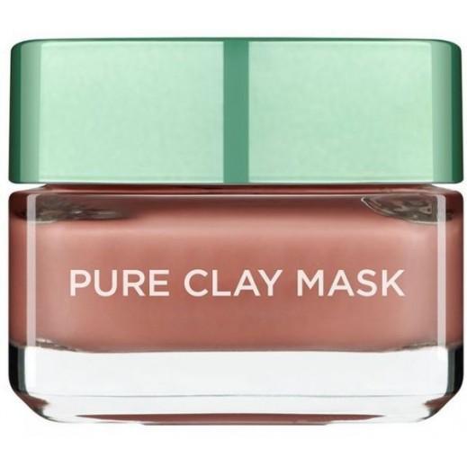 L'Oreal Red Algae Pure Clay Facial Mask 50 ml
