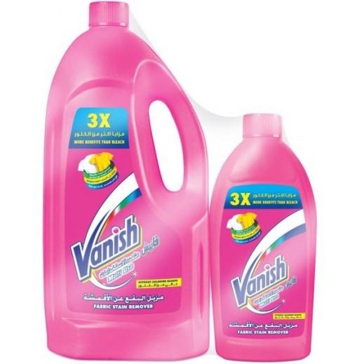 Vanish Fabric Stain Remover 3 L + 500 ml Free