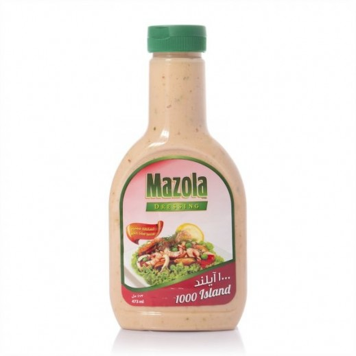 Mazola Dressing 1000 Island Salad 400 ml