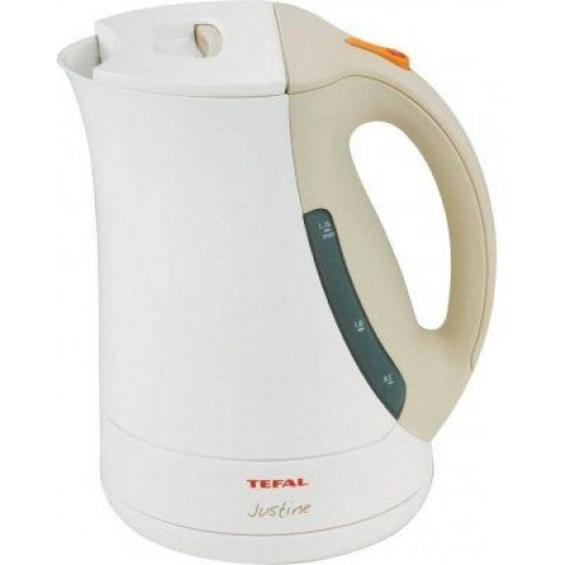 Tefal Electric Kettle Justin White/Grey