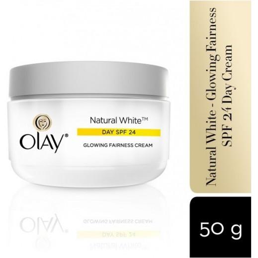 Olay Natural White Day Cream Apple SPF24 50 g