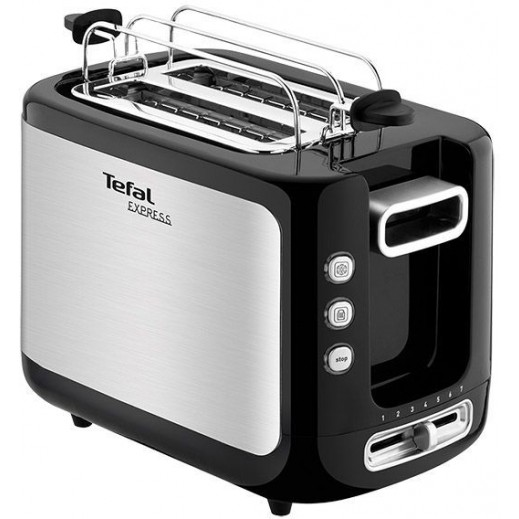 Tefal Toaster New Express 2 Slot Steel