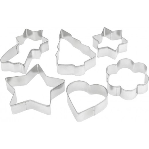 Penguen Stainless Steel Cookie Cutter - 6 Pieces