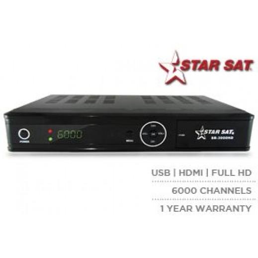 Starsat Digital Full HD Receiver SR-X3000HD