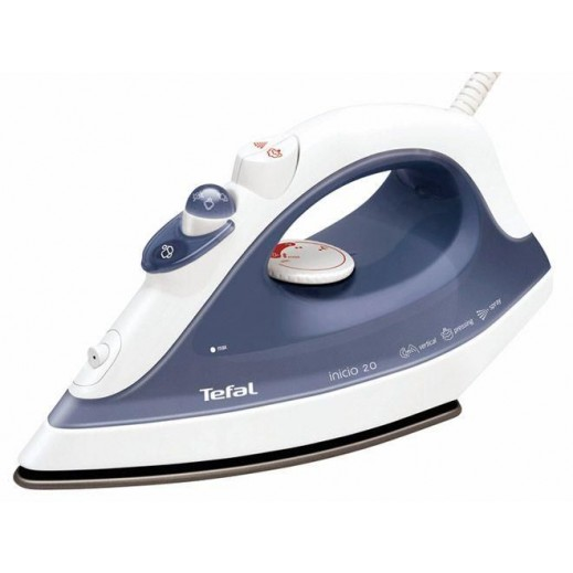 Tefal Inicio Steam Iron 1800 W with Non-Stick Soleplate - FV1220M0