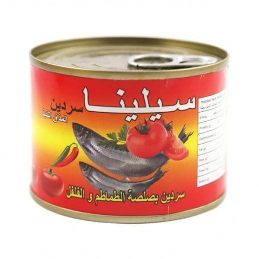 Sylina Sardine In Hot Sauce 200 g