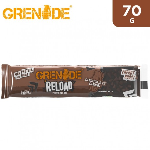 Grenade Reload Chocolate Chunk Protein Oat Bar 70 g