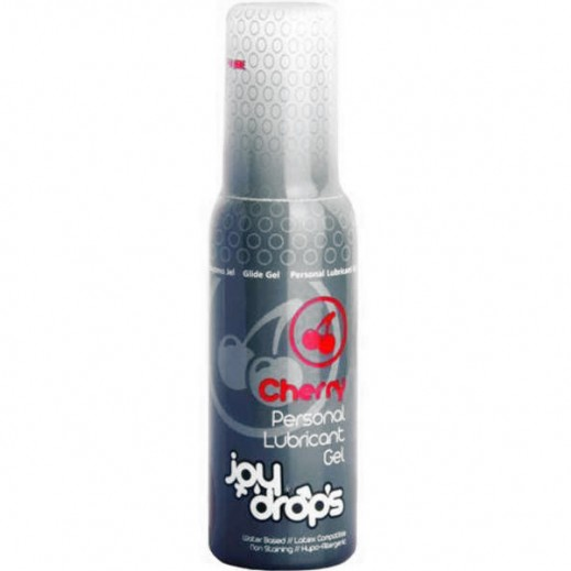 JOY Drops Intimate Lubricant Gel Cherry Flavor