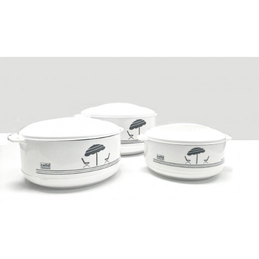Cello Jumbo Exclusive Casserole Set - 3 Pieces