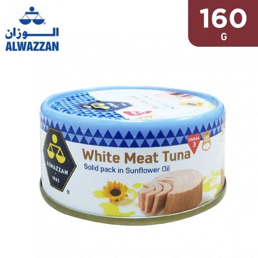 Alwazzan White Meat Tuna in Sunflower Oil 160 g