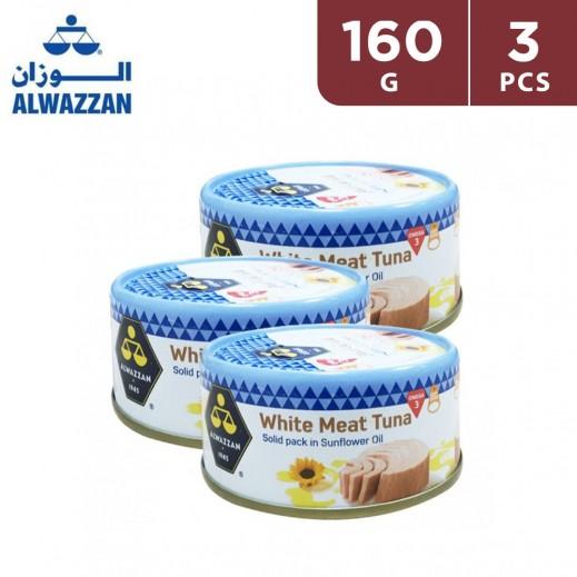 Alwazzan White Meat Tuna 160 g (3 pieces)