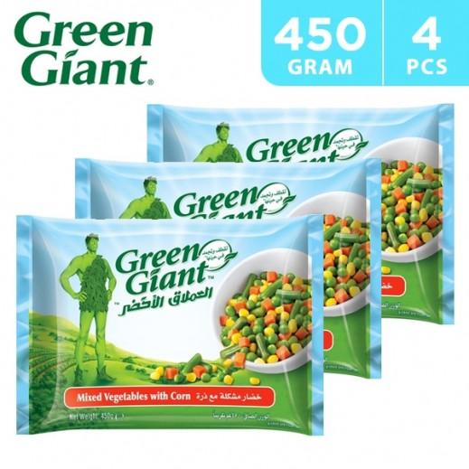 Green Giant Frozen Mixed Vegetable w/ Corn 4 x 450 g