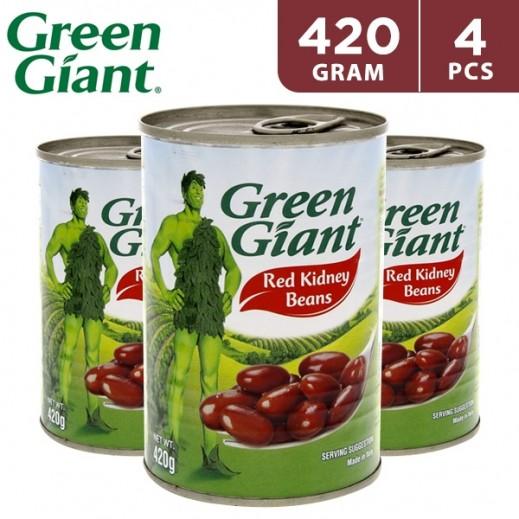 Green Giant Dark Red Kidney Beans 4 x 420 g